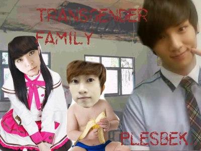 TRANSGENDER FAMILY Plesbek